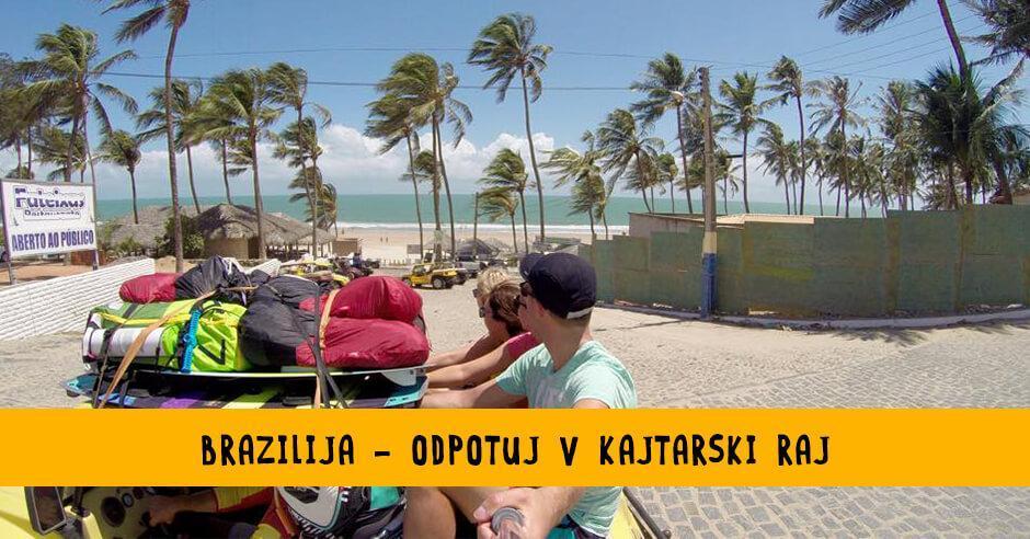 Kite potovanje Brazilija