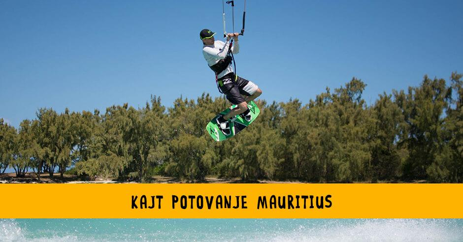 Kite potovanje Mauritius