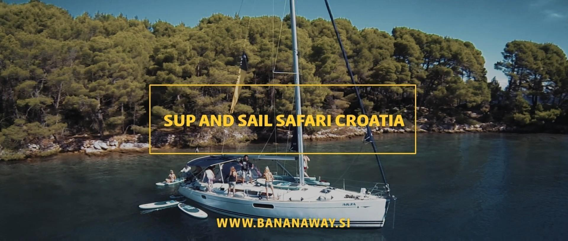 SUP and Sail Safari | Stand-up Paddling Croatia