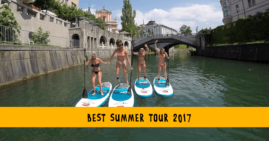 Best summer tour in Ljubljana 2017