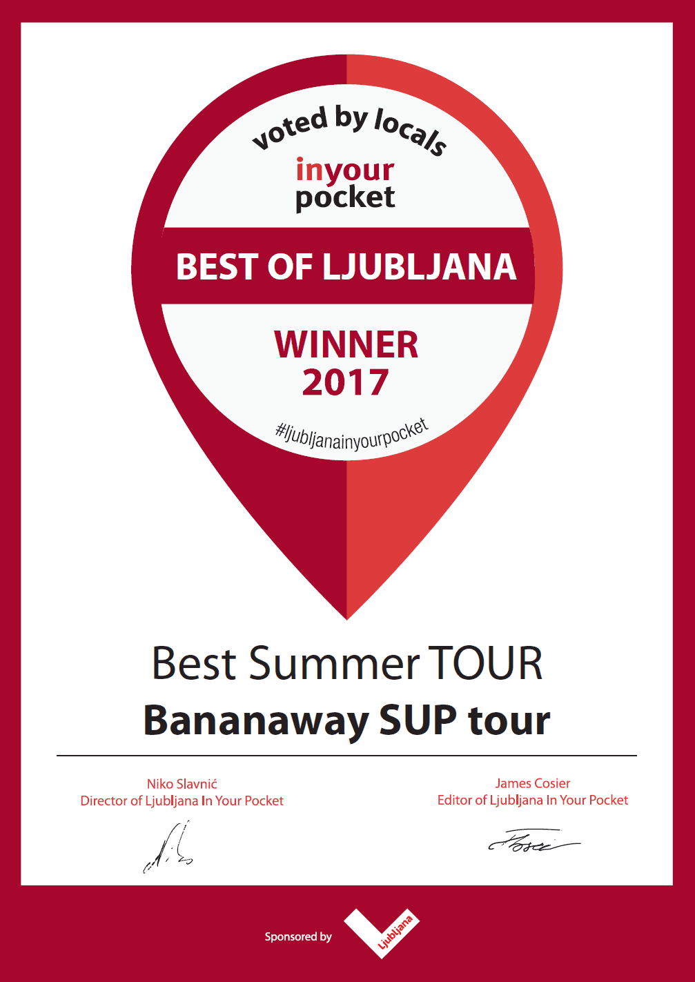 Best summer tour_Best summer activity_Bananaway paddle boarding tour 2017_Slovenia