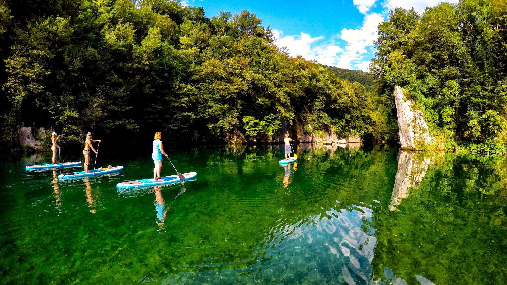 Soca valley sup tour