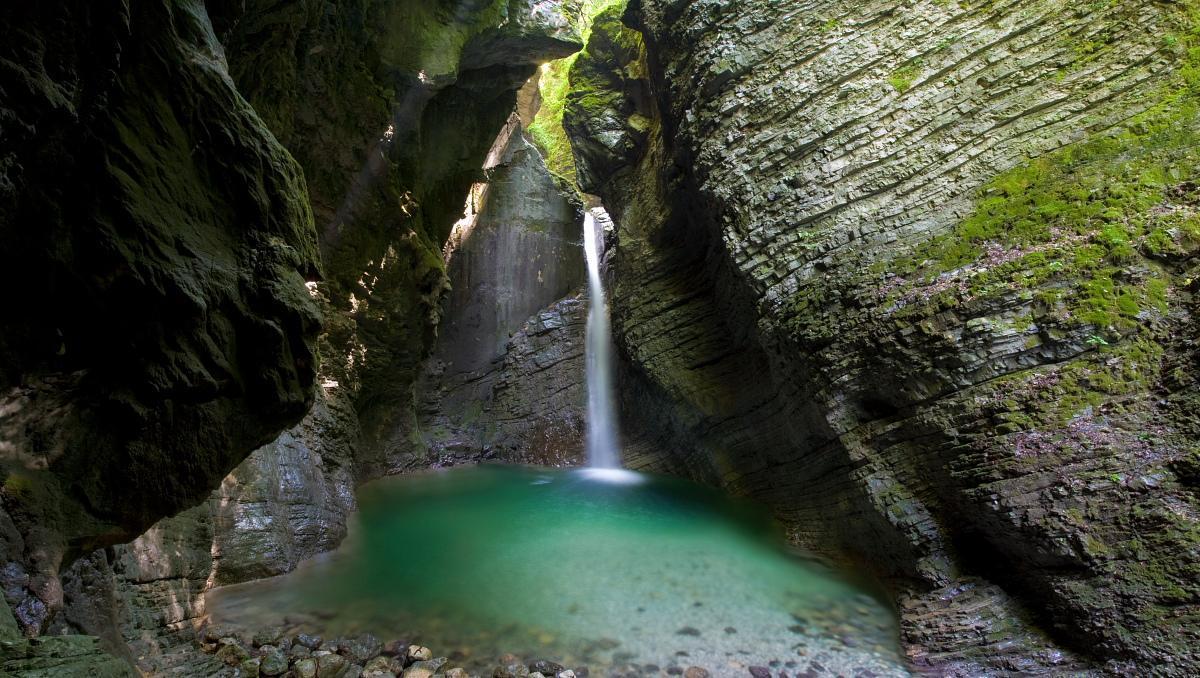 Waterfall Kozjek