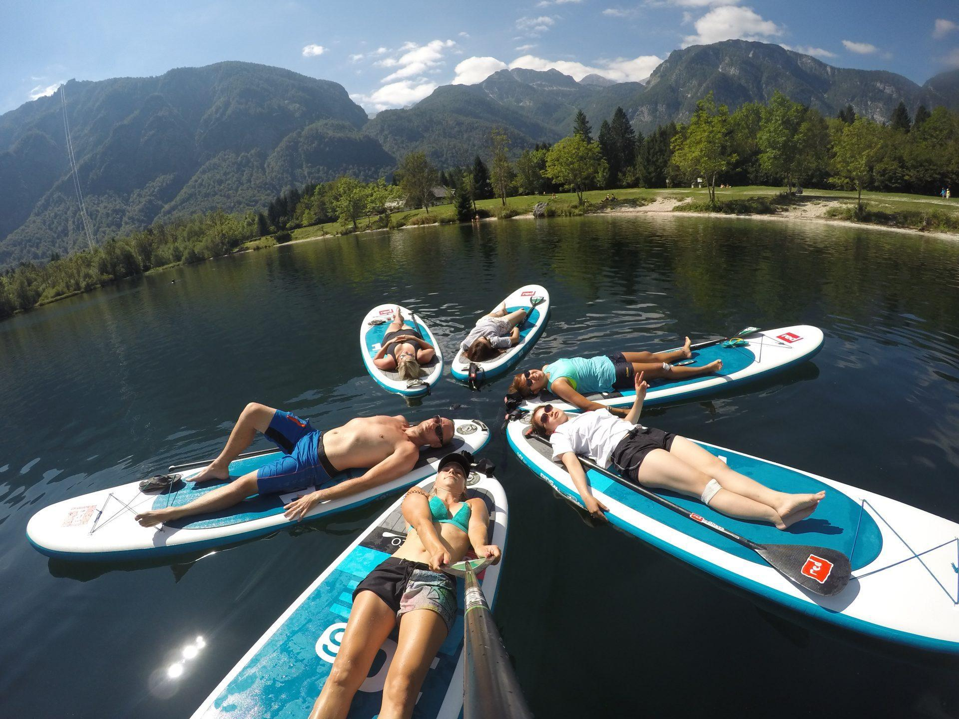Relax on sup boards