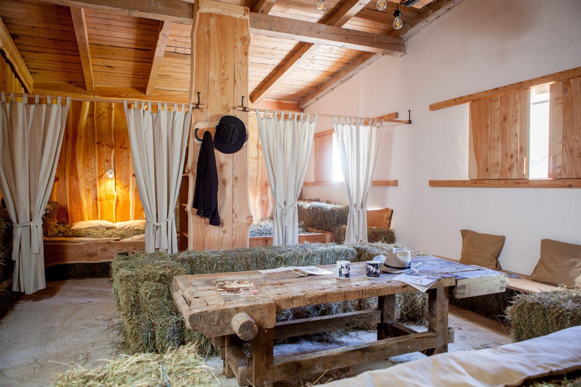 Sleeping on the hay experience