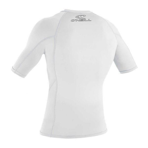 Basic Skins S/S Crew 025 WHITE