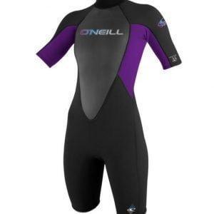 O'Neill Wms Reactor 2mm Black Violet Front