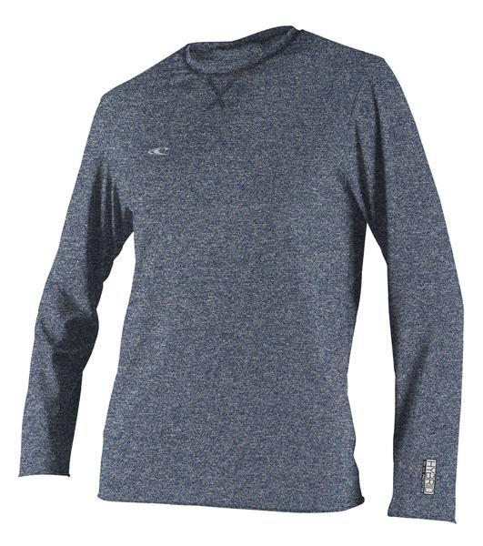 O'Neill Hybrid L/S Surf Tee Front Navy