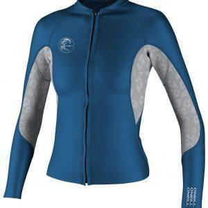 O'Neill WMS O'riginal FL Jacket Deepsea Silver - Front