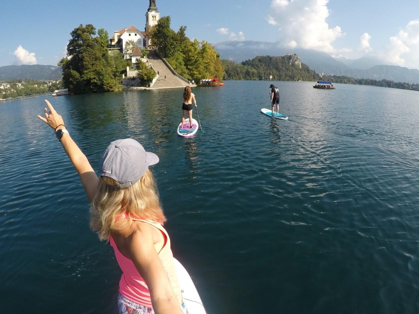 Sup Tour Lake Bled