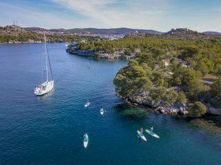 Sup & sail safari Croatia