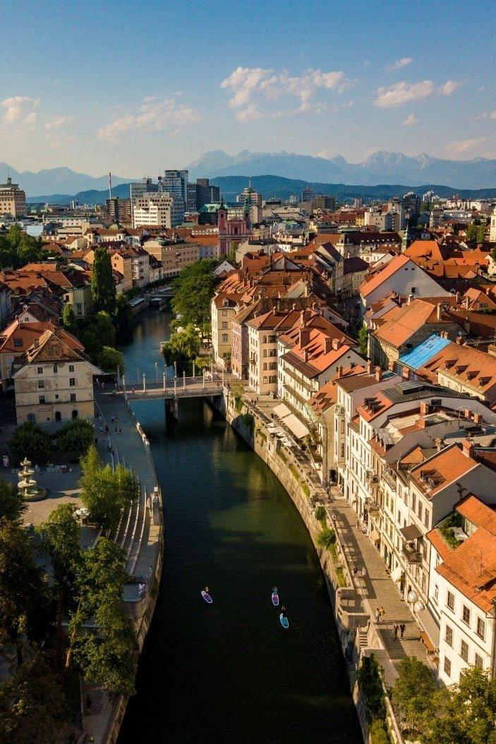 Ljubljana, green capital of Europe 2016