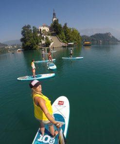 Standup paddle boarding tour | lake Bled, Slovenia