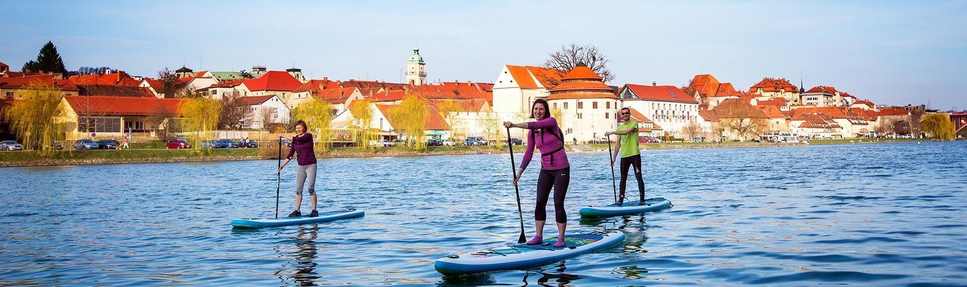 stand up paddle tour maribor