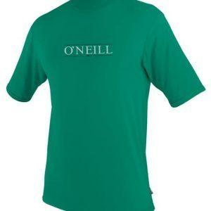 O'Neill Skins S/S Rash Tee Spruce Front