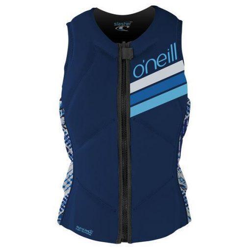 Wms Slasher Comp Vest EN2 NVY/INDPATCH