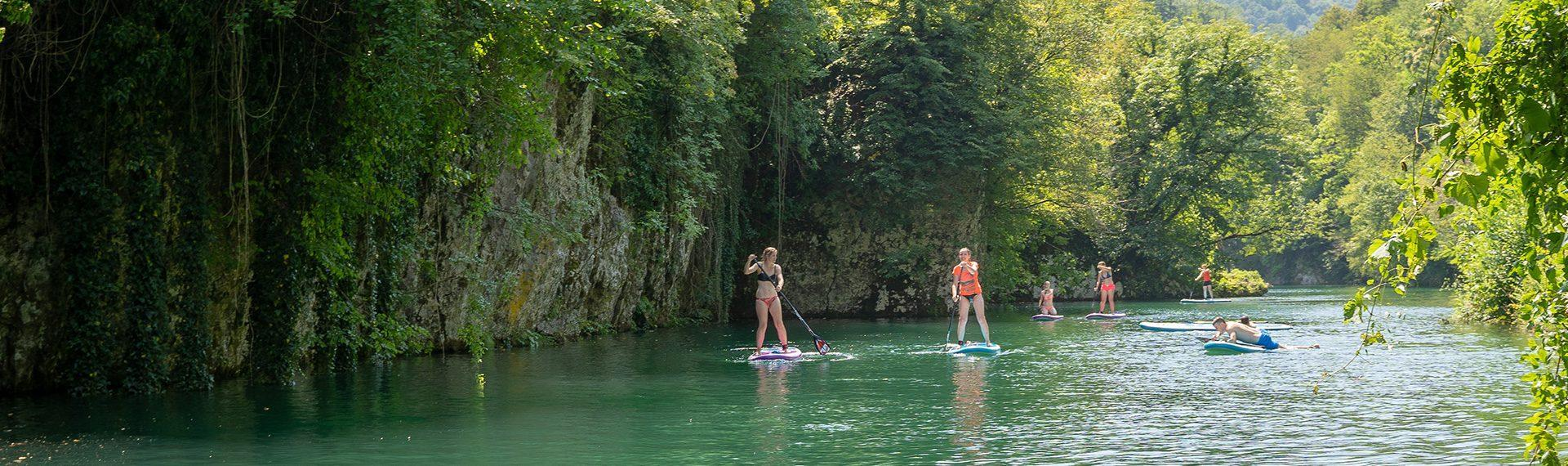 SUP tours in Slovenia
