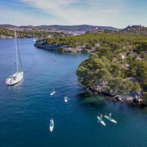 Sup & sail safari Croatia