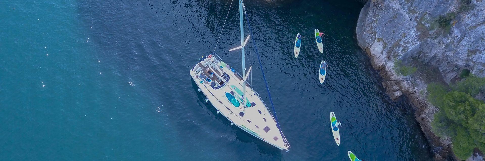 Sup and sail
