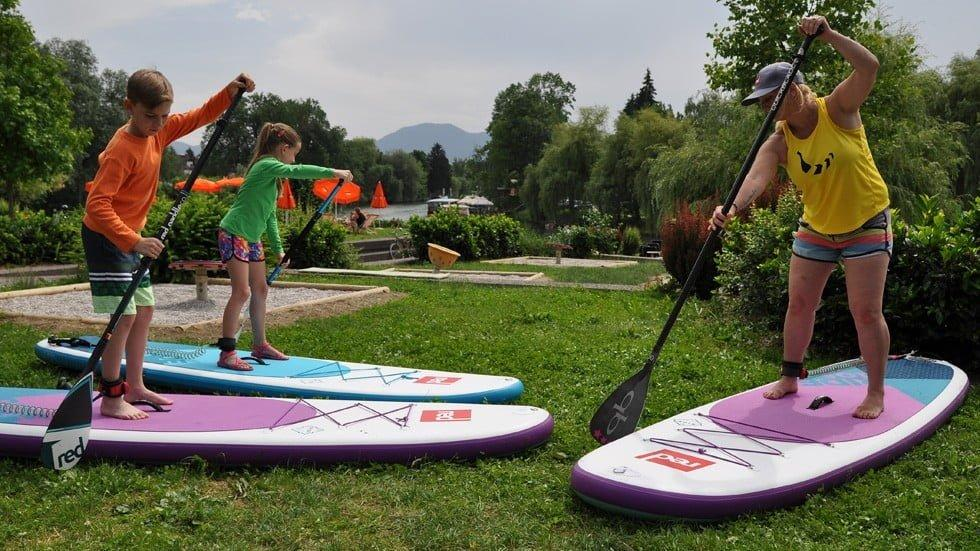 Introductory sup course - ljubljana sup tour