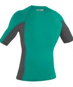 O'Neill Premium Skins S/S Rash Guard Balticgreen /Smoke