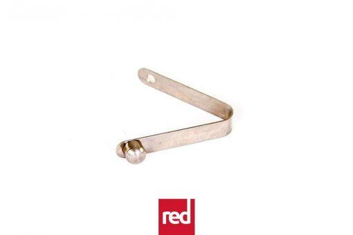 Paddle - Pushpin button spring clip